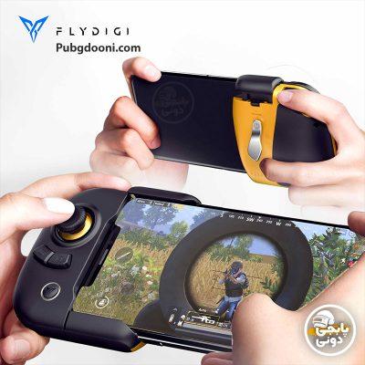 دسته بازی موبایل بلوتوثی پابجی PUBG فلای دیجی FlyDigi Wasp 2