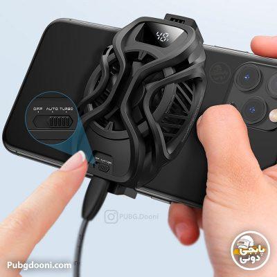 خرید فن رادیاتور خنک کننده گوشی موبایل حرفهای باسئوس Baseus GAMO GA06