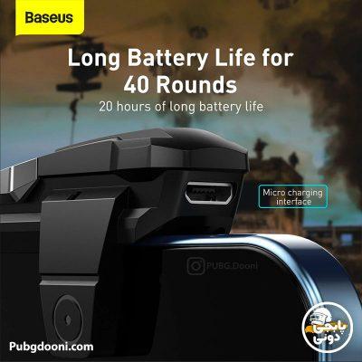 قیمت و خرید دسته پابجی لیزری بیسوس Baseus Automatic Combo Button Suit GA09 + GA10