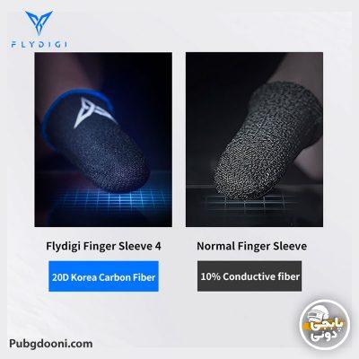 عرقگیر انگشتی گیمینگ پابجی اورجینال فلای دیجی FlyDigi Wasp Feelers 4 با ارزانترین قیمت