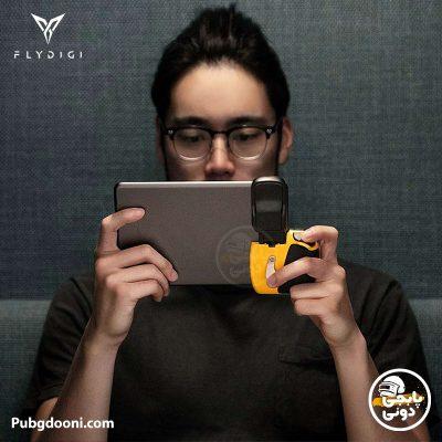 دسته بازی تبلت بلوتوثی فلای دیجی FlyDigi Wasp 2 iPad Edition
