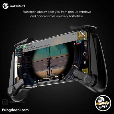 قیمت خرید دسته بازی موبایل مغناطیسی گیم سیر Gamesir F3 Plus اصل با ارزانترین قیمت