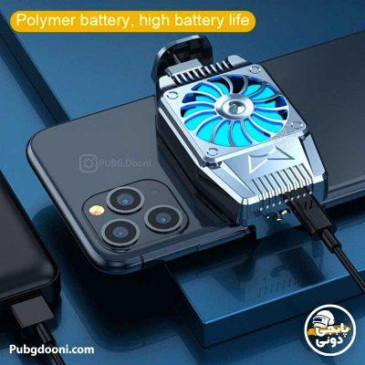 مشخصات و خرید فن خنک کننده گوشی موبایل شارژی مدل H15 Mobile Phone Radiator Fan اصل با ارزانترین قیمت