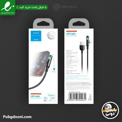مشخصات و خرید کابل شارژر گیمینگ تایپ سی برای شیائومی و سامسونگ جویروم JoyRoom S-M392 USB-C با ارزانترین قیمت