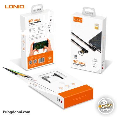 مشخصات و خرید کابل شارژر گیمینگ لایتنینگ آیفون LDINO LS421 Lightning با ارزانترین قیمت