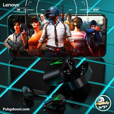 هندزفری هدست بلوتوثی گیمینگ بیسیم لنوو Lenovo LP6 TWS
