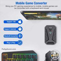 قیمت، مشخصات و خرید موس و کیبورد موبایل گیمینگ مدل Mix Pro