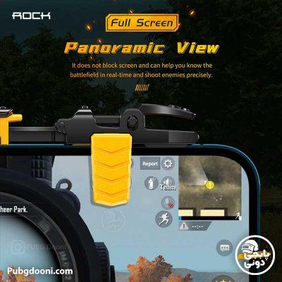 مشخصات و خرید دسته بازی کالاف دیوتی و پابجی مغناطیسی راک Rock G02 با ارزانترین قیمت