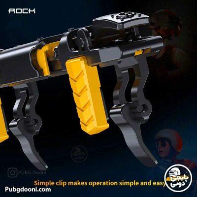 مشخصات و خرید دسته کالاف دیوتی و پابجی مغناطیسی برند راک Rock G02 با ارزانترین قیمت