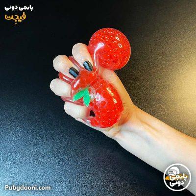 خرید فیجت ضد استرس و سرگرم کننده گوجه دونه اناری درجه یک با ارزانترین قیمت و ارسال فوری