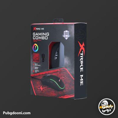 خرید پک موس و موس پد گیمینگ ایکستریکمی Xtrike Me GMP 290 اورجینال با ارزانترین و بهترین قیمت